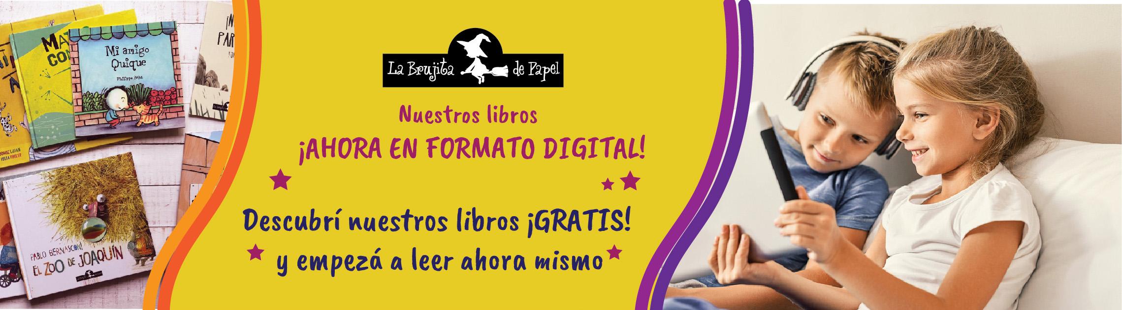 Nuestros libros ¡Ahora en formato digital!